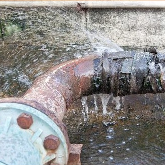 PPP SVJ prasklá vodovodní trubka