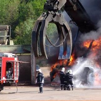 PPP zranění hasiče při zásahu