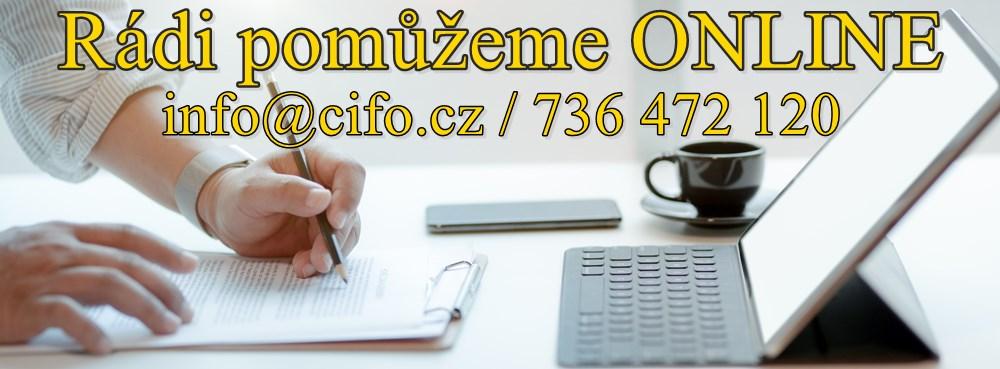 ČIFO úvěry a hypotéky - jsme tu pro Vás online. Kontaktujte nás!